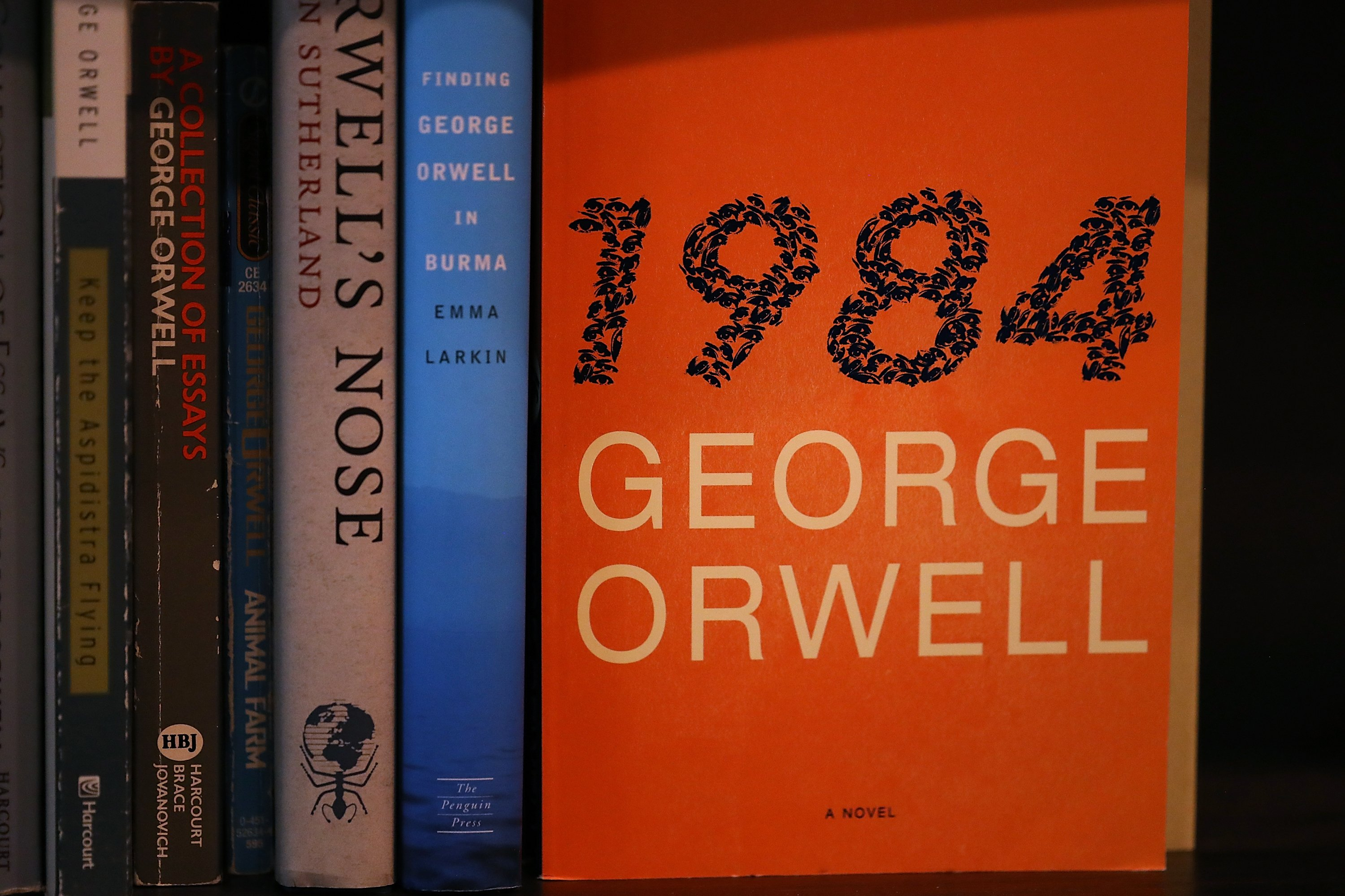 an analysis of the politics of airstrip one in orwells novel 1984