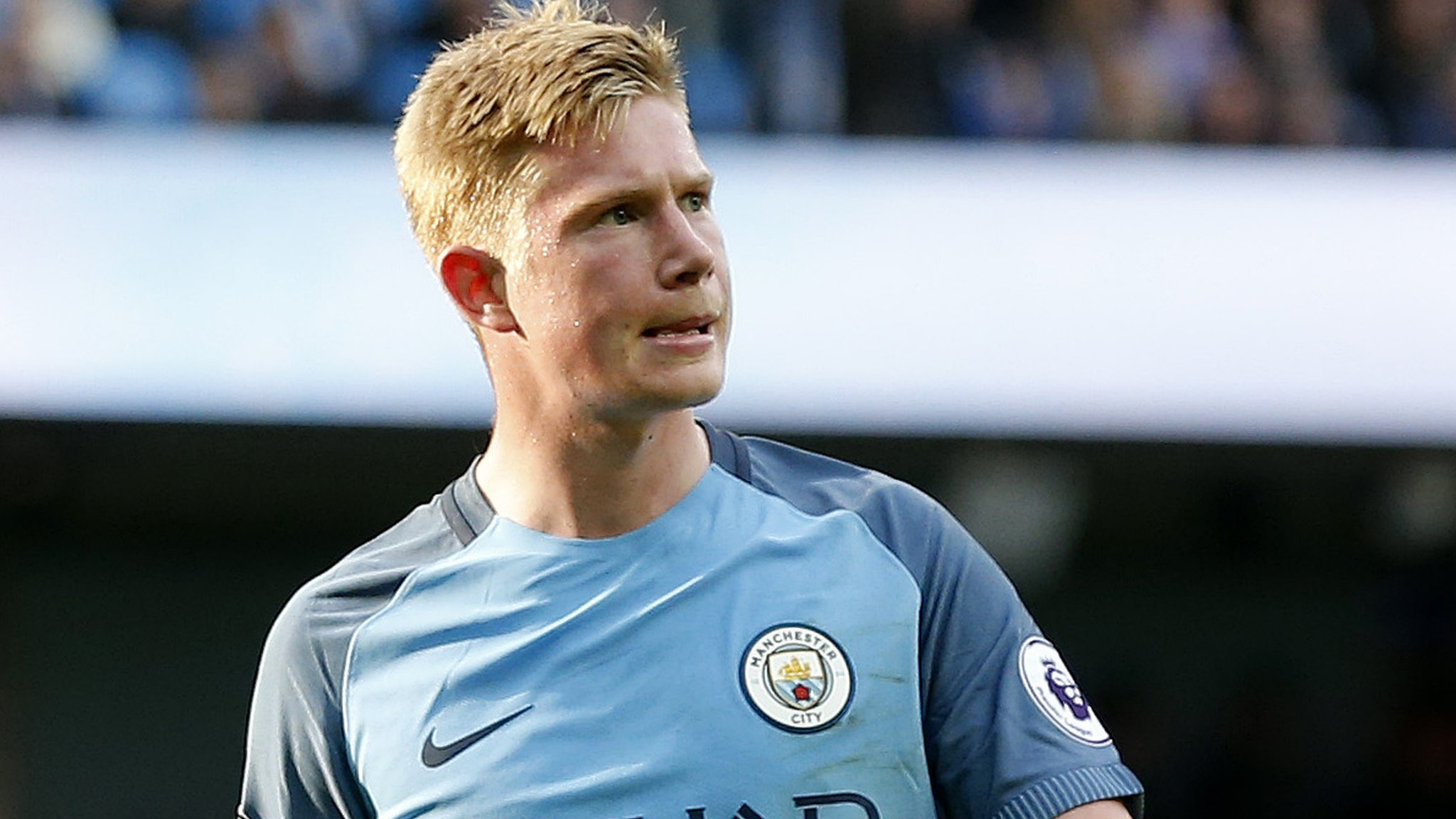 City's De Bruyne out of Manchester derby