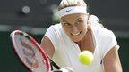 Wozniacki & Kvitova into third round