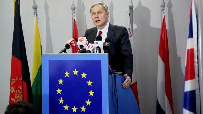 اتحادیه اروپا: حذف فرهنگ معافیت راه اصلی مبارزه با فساد در افغانستان است