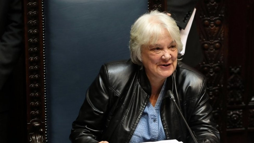 Lucia Topolansky is Uruguay's first female vice president