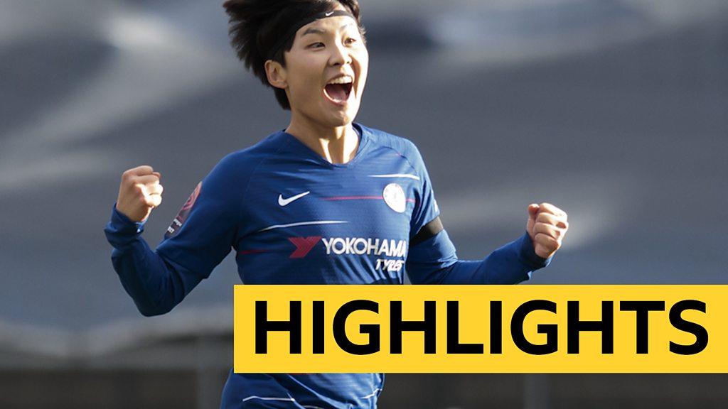 Women's Super League: Ji free-kick seals dramatic Chelsea comeback