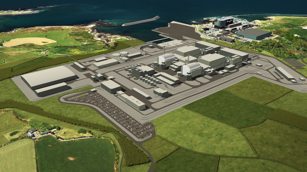 Wylfa Newydd: Hitachi to halt work on UK nuclear plant