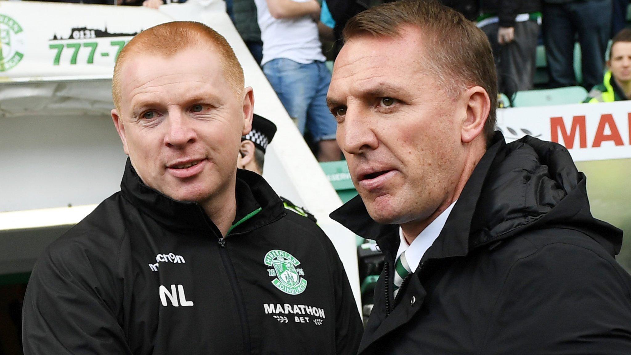Brendan Rodgers: Hibs' Neil Lennon backs Celtic to bounce back