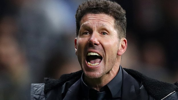 Diego Simeone: Atletico Madrid boss' celebration 'came from the heart'