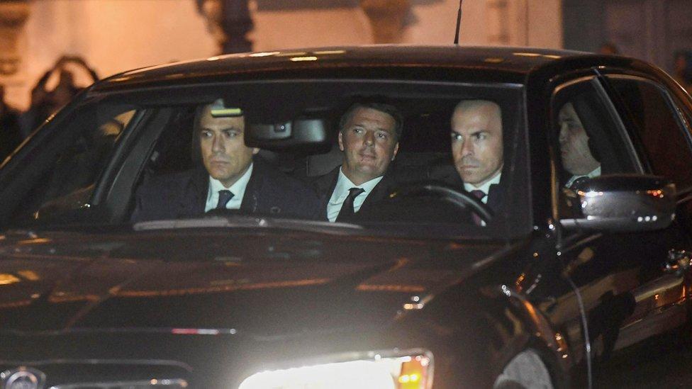 Thủ tướng Italy Matteo Renzi đệ đơn từ chức
