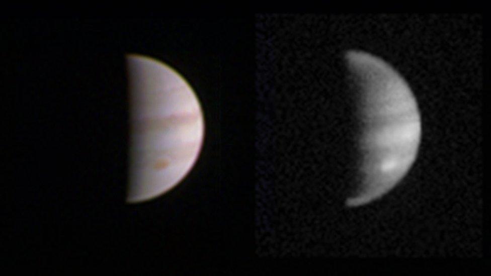 Juno probe makes close pass of Jupiter