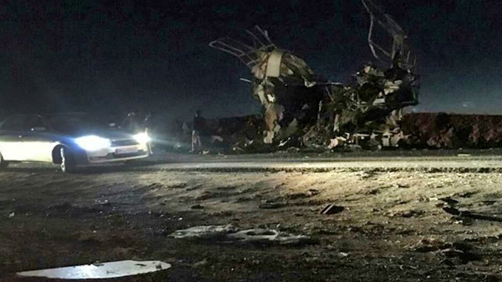 Iran warns neighbours after bombing kills Revolutionary Guards