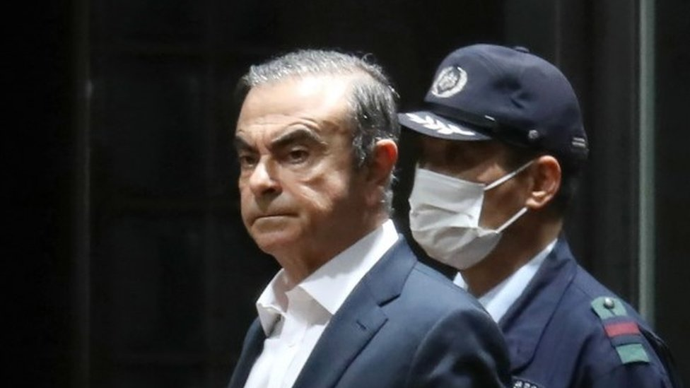 Nissan's ex-boss Ghosn leaves Tokyo jail on $4.5m bail