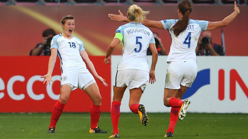 Women's Euro 2017: England 6-0 Scotland highlights