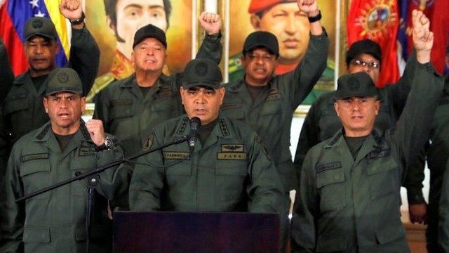 Crisis en Venezuela: la advertencia del ministro de Defensa Padrino López en res ...