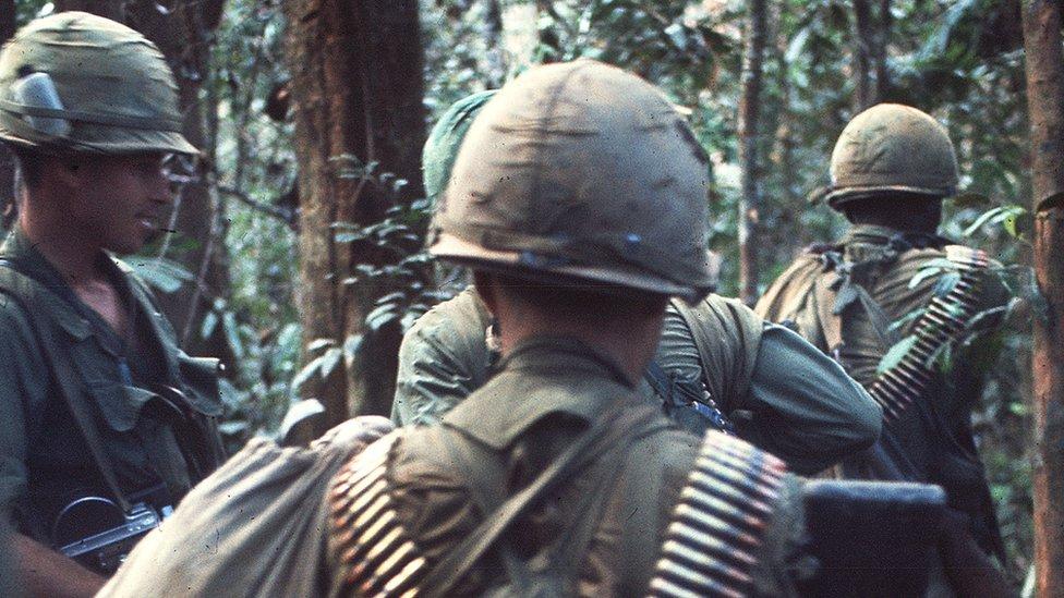 Imagen de soldados de Vietnam Sur en 1967