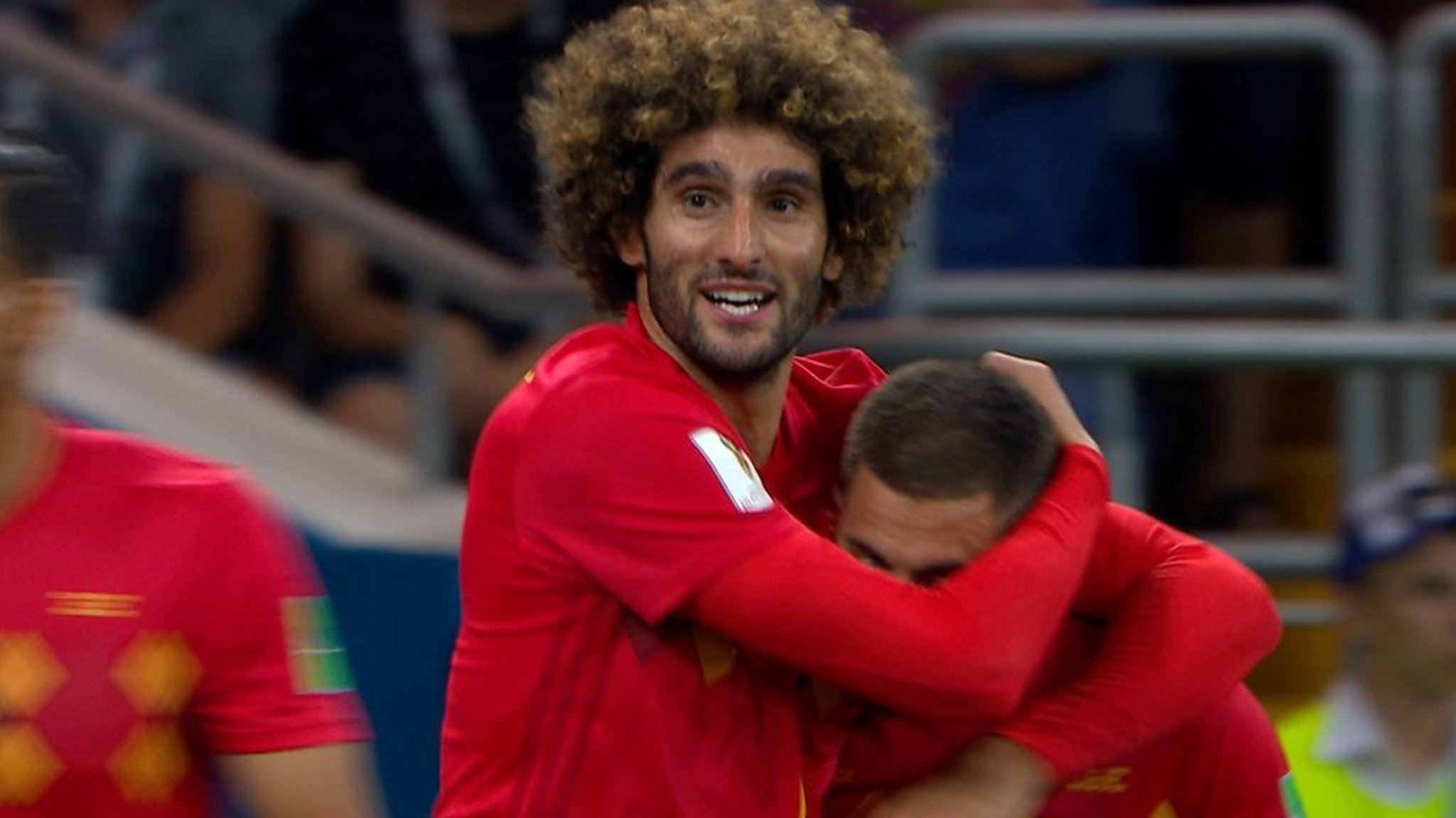 Watch: Fellaini header completes Belgium comeback