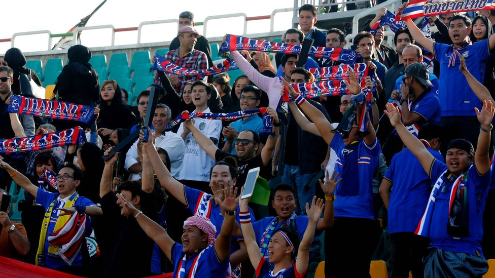 Australia and Thailand ban chanting at World Cup qualifier