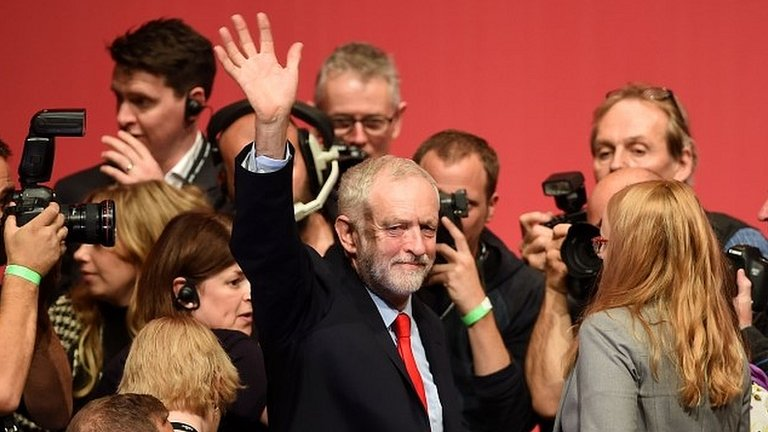 Labour leadership: Corbyn appeals for unity after re-election