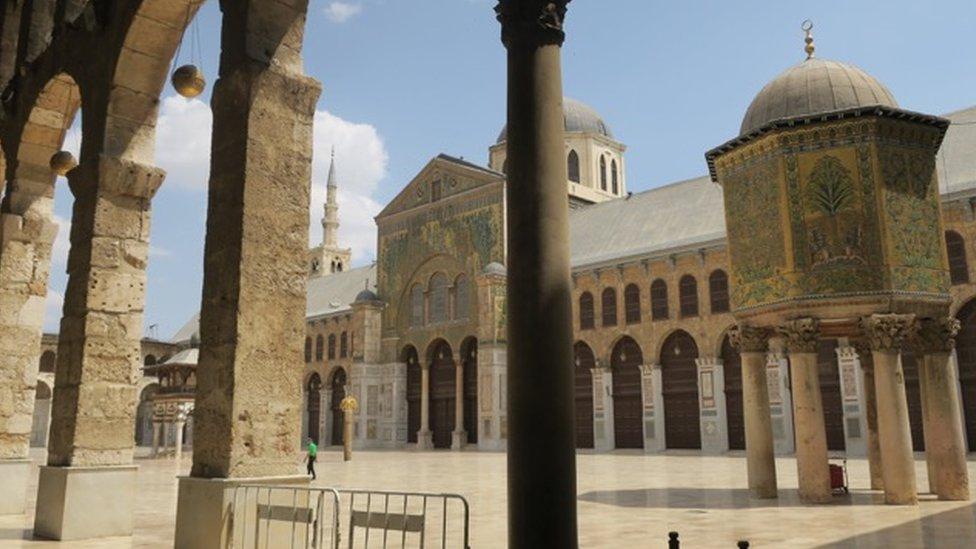 المسجد الأموي الكبير