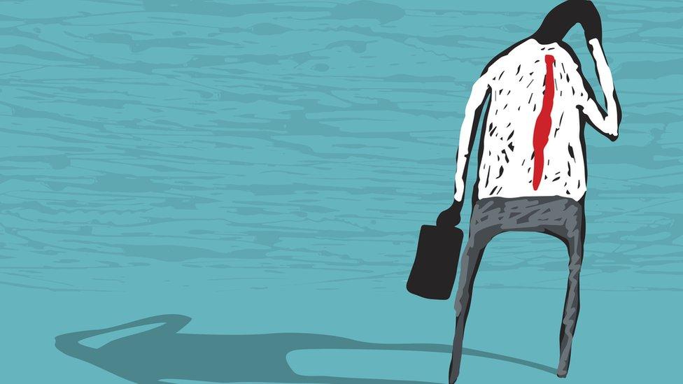 Ilustración de un hombre ansioso. (Imagen: Planet Flem / Getty)