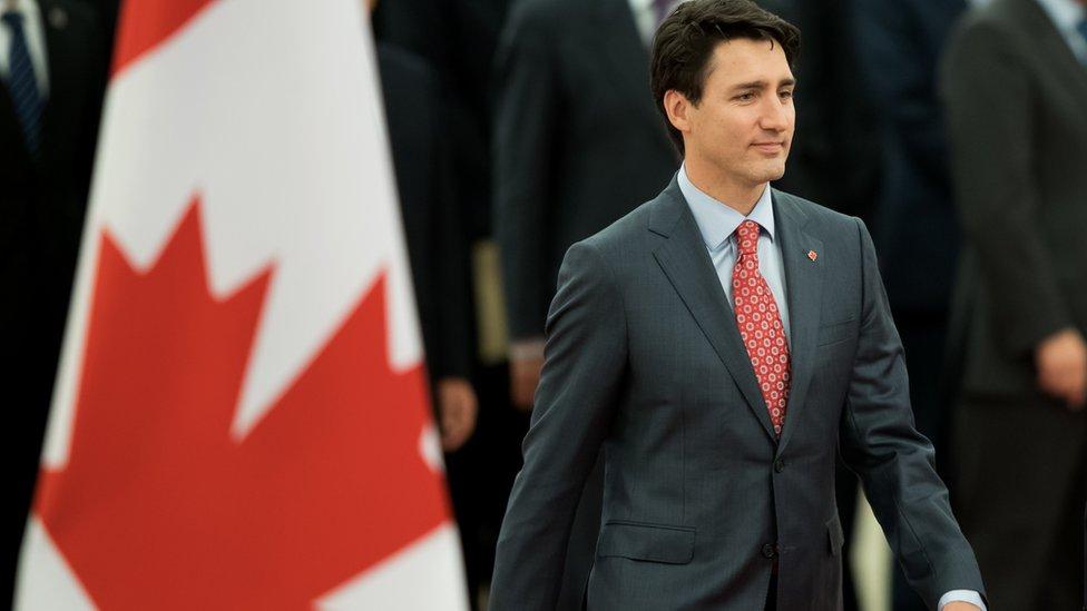 2017年,加拿大總統訪華