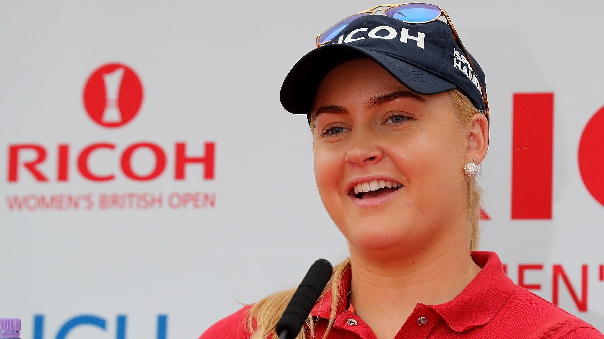 Women's British Open: Charley Hull targets victory at her home course Woburn