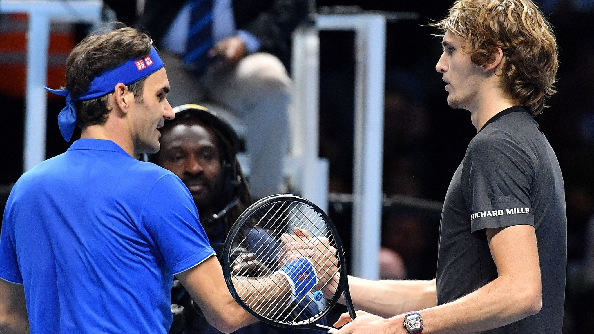 'I hope the boy doesn't have a sleepless night' - Federer defends Zverev and ball boy