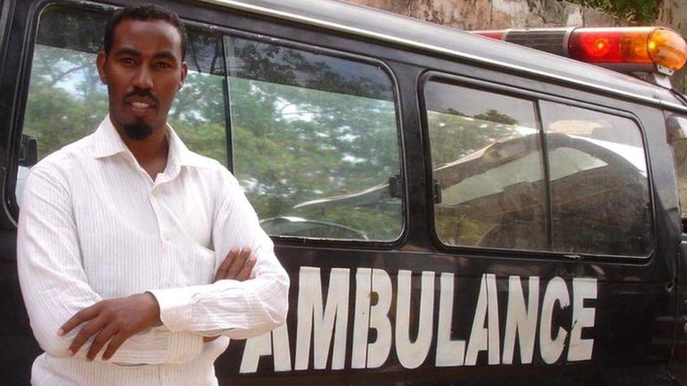 Naima Mohamud on the man behind Somalia's free ambulances