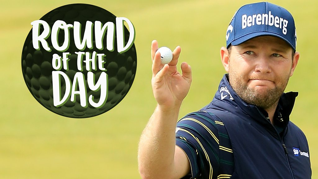 The Open 2017: Branden Graces record-breaking round of the day
