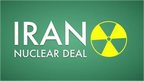 Graphic reading 'Iran nuclear deal'