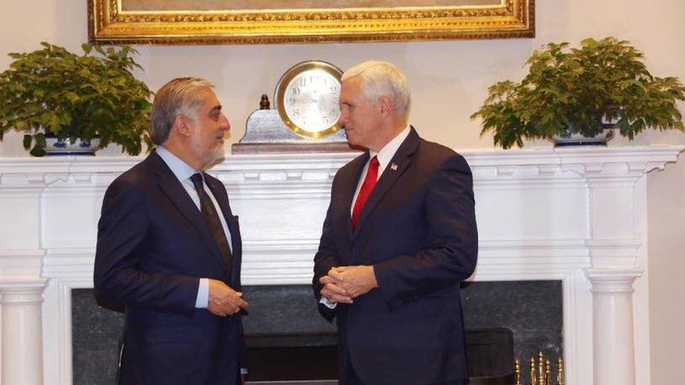 عبدالله در واشنگتن: مشکل پناهگاههای امن 'تروریستها' هنوز پابرجاست