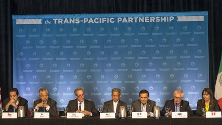 "Twelve Pacific nations fail to agree a regional trade deal which would cover 40% of the world economy, despite talk of ""significant progress""."