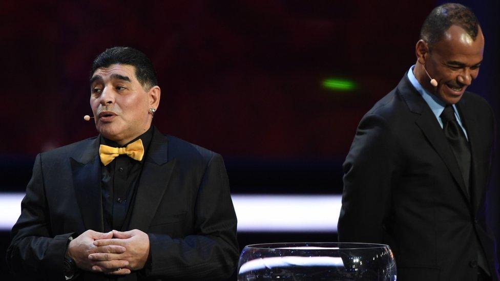 Maradona opina sobre Argentina