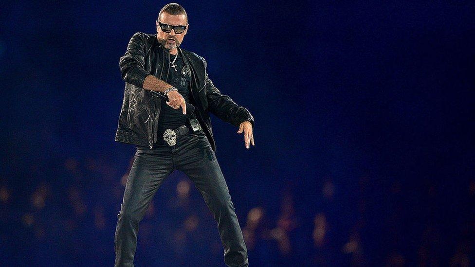 Michael se presentó en la clausura de los Juegos Olímpicos de Londres en 2012.