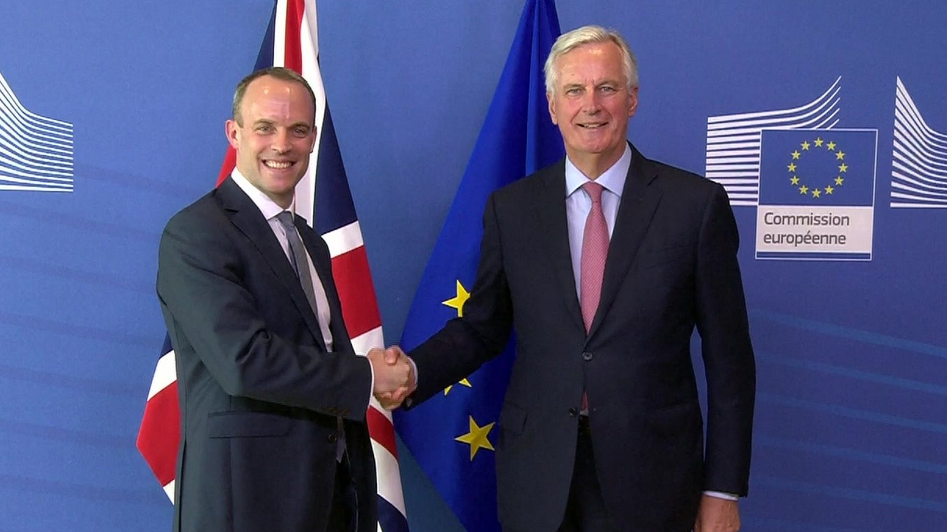 New Brexit Secretary Dominic Raab vows to 'intensify' talks