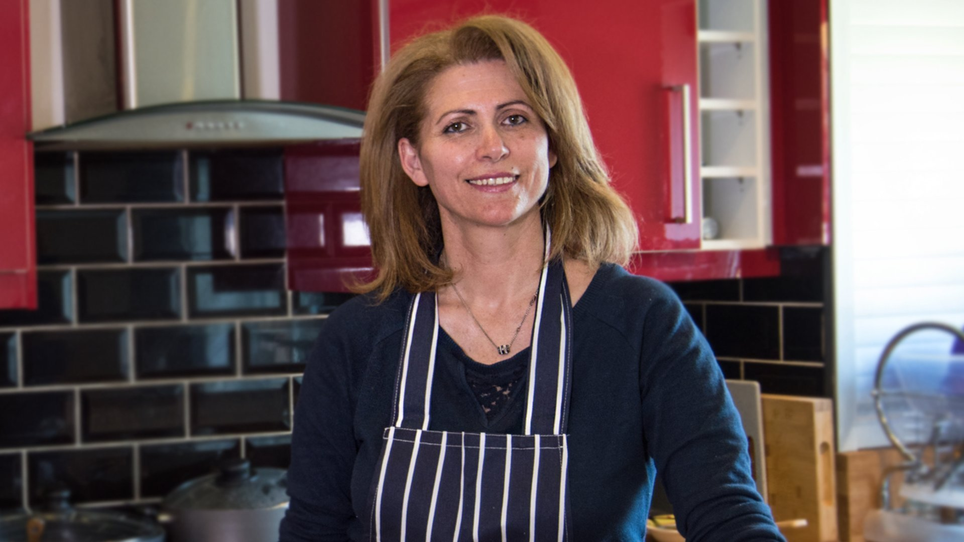 Refugee, activist and champion of Syrian cuisine