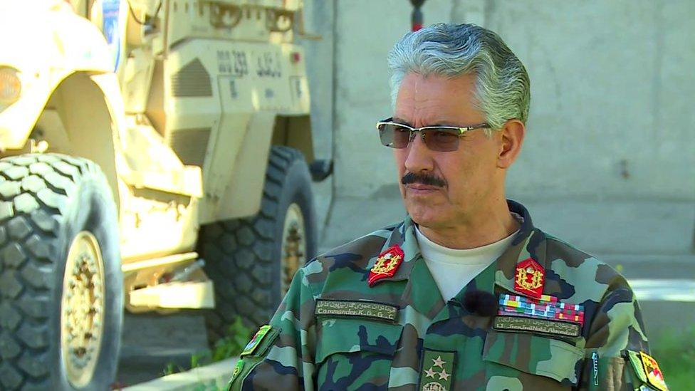فرمانده 'گارنیزیون' کابل: نیروهای ما به معترضان تیراندازی نکرده اند
