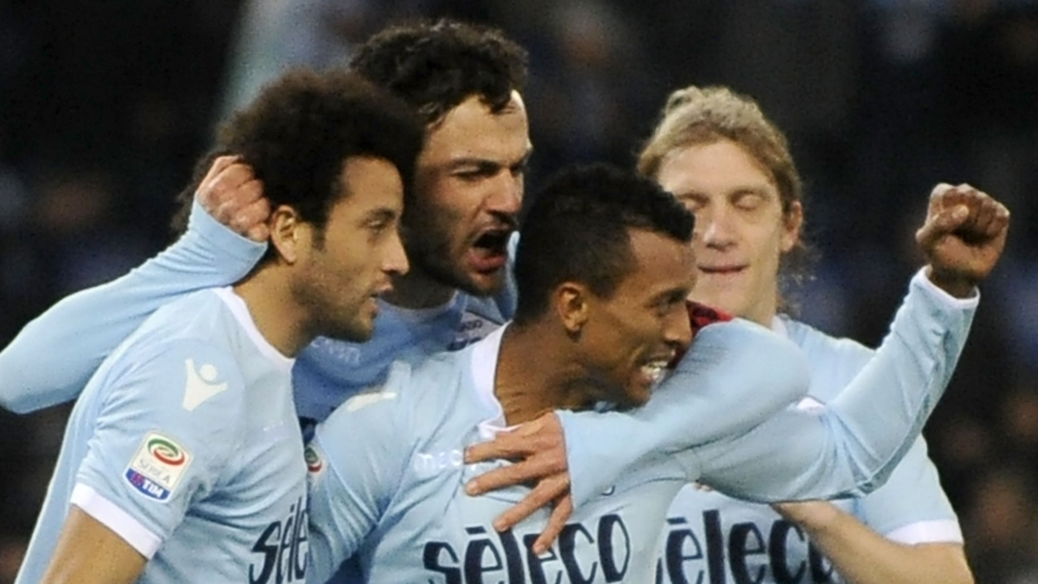 Nani scores again as Lazio stay third in Serie A