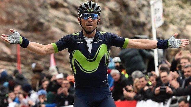 Volta a Catalunya: Alejandro Valverde beats Chris Froome in stage five climb