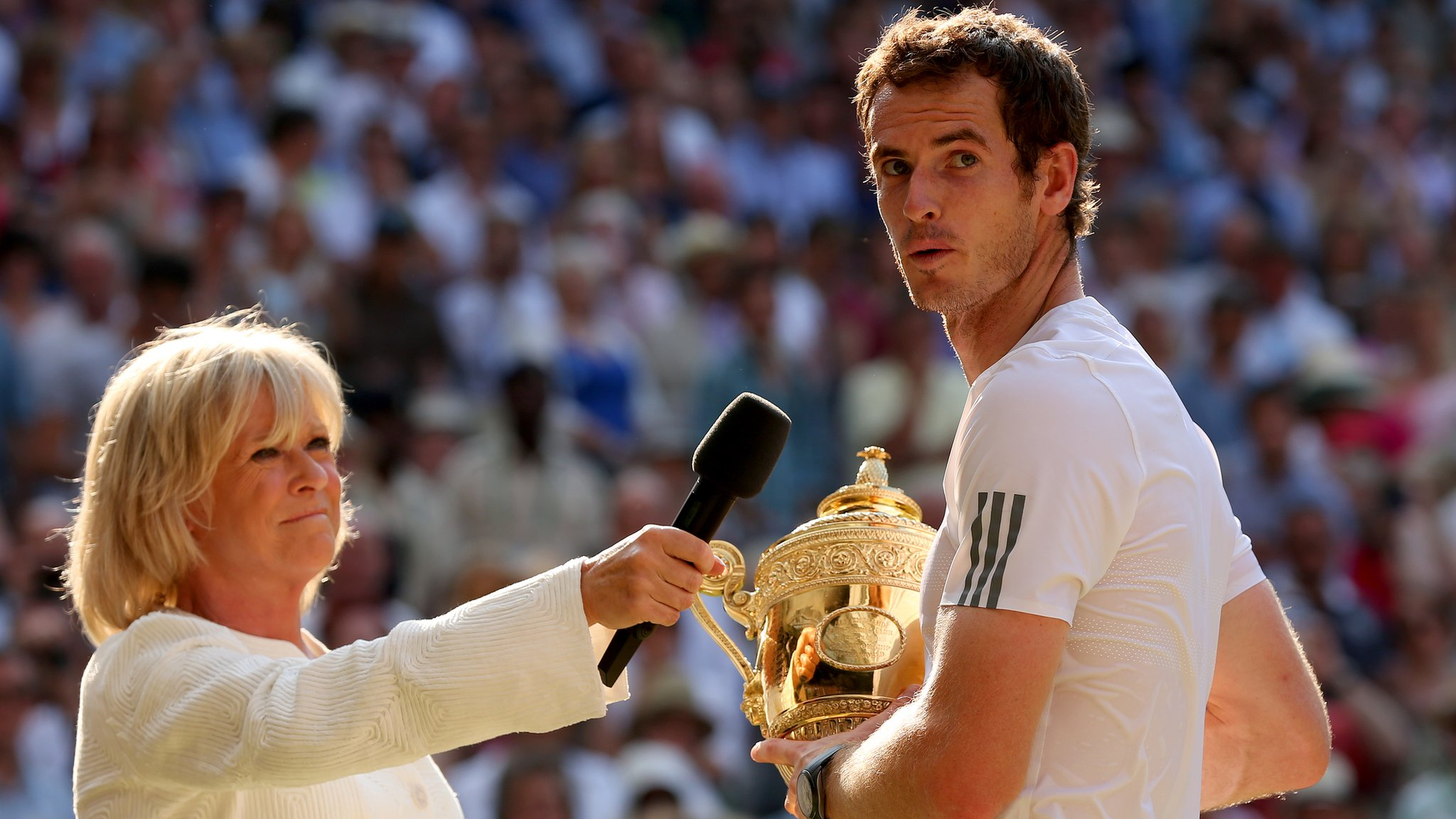 'He's the greatest we have had' - Barker's emotional Murray tribute