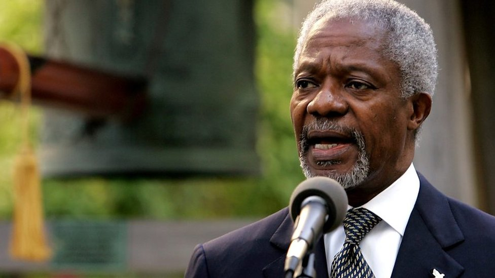 Kofi Annan death: World leaders honour former UN chief