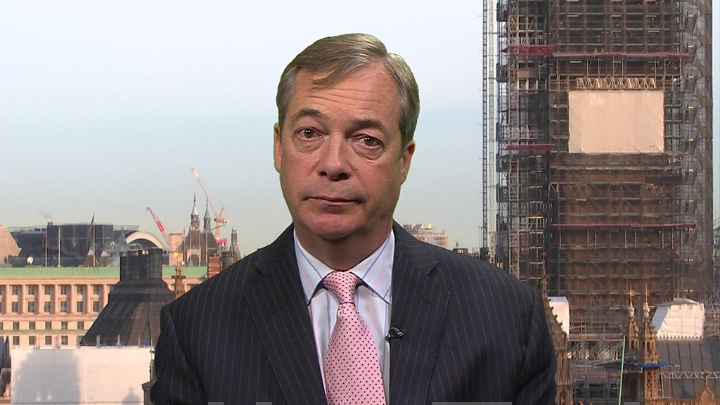 Nigel Farage 'looking for new party'