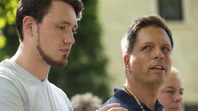 Don Damond y su hijo