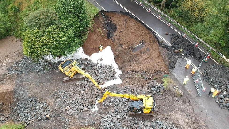 A68 at Fala: The collapsed road rebuilt in under a month thumbnail