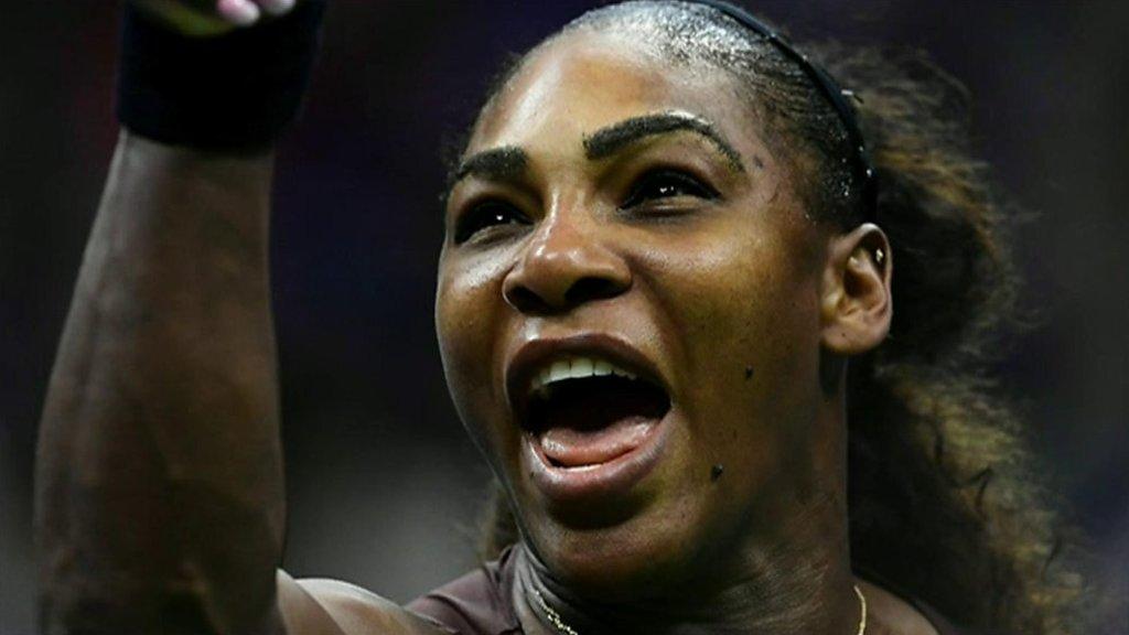 Serena Williams' US Open court outburst
