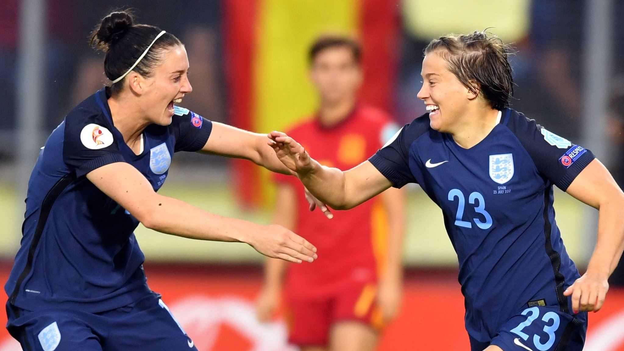 Women's Euro 2017: England close to quarters after win over Spain