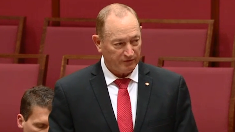 Fraser Anning: Australia MPs condemn 'final solution' speech