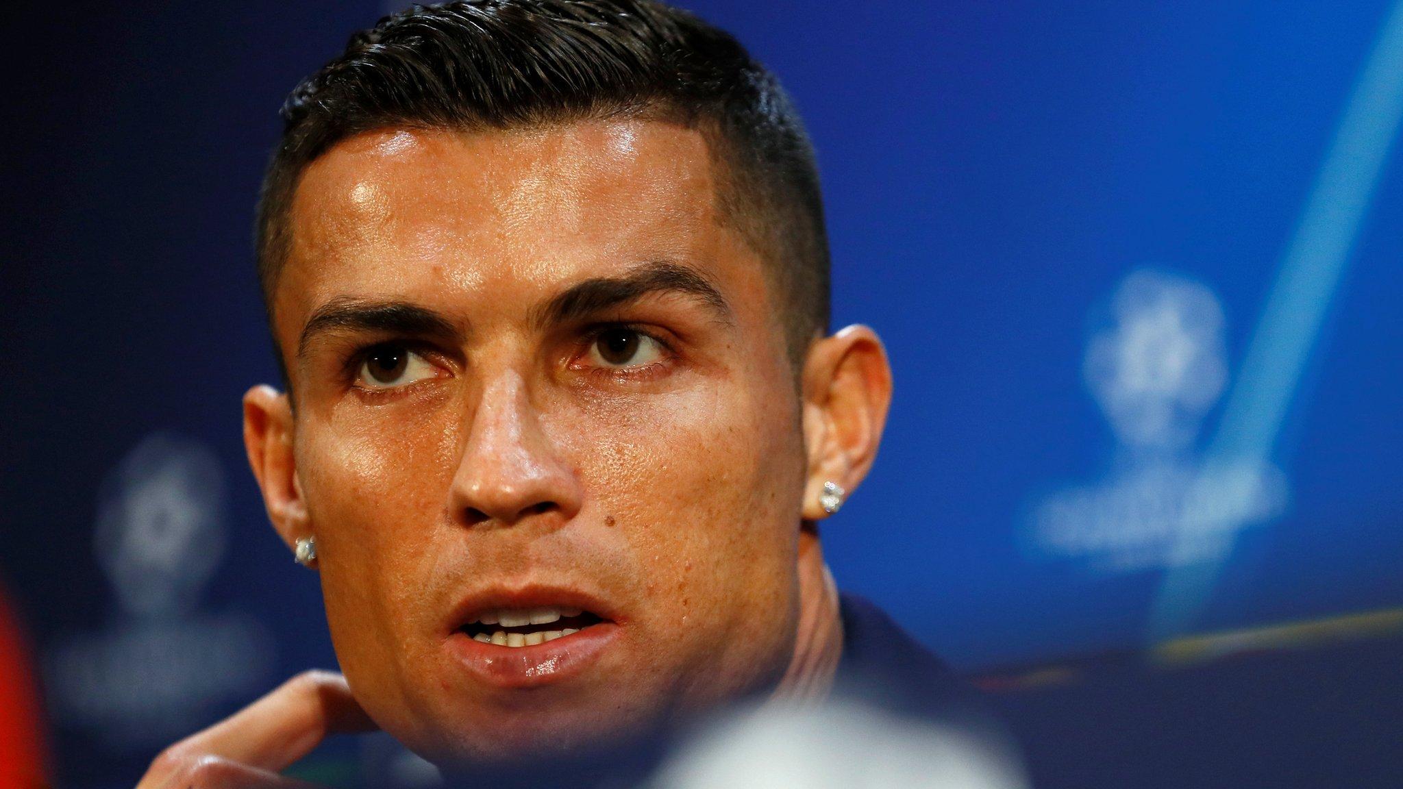 Cristiano Ronaldo rape allegation: Juventus forward says 'lawyers confident'