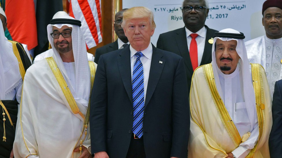 ترامب والملك سلمان