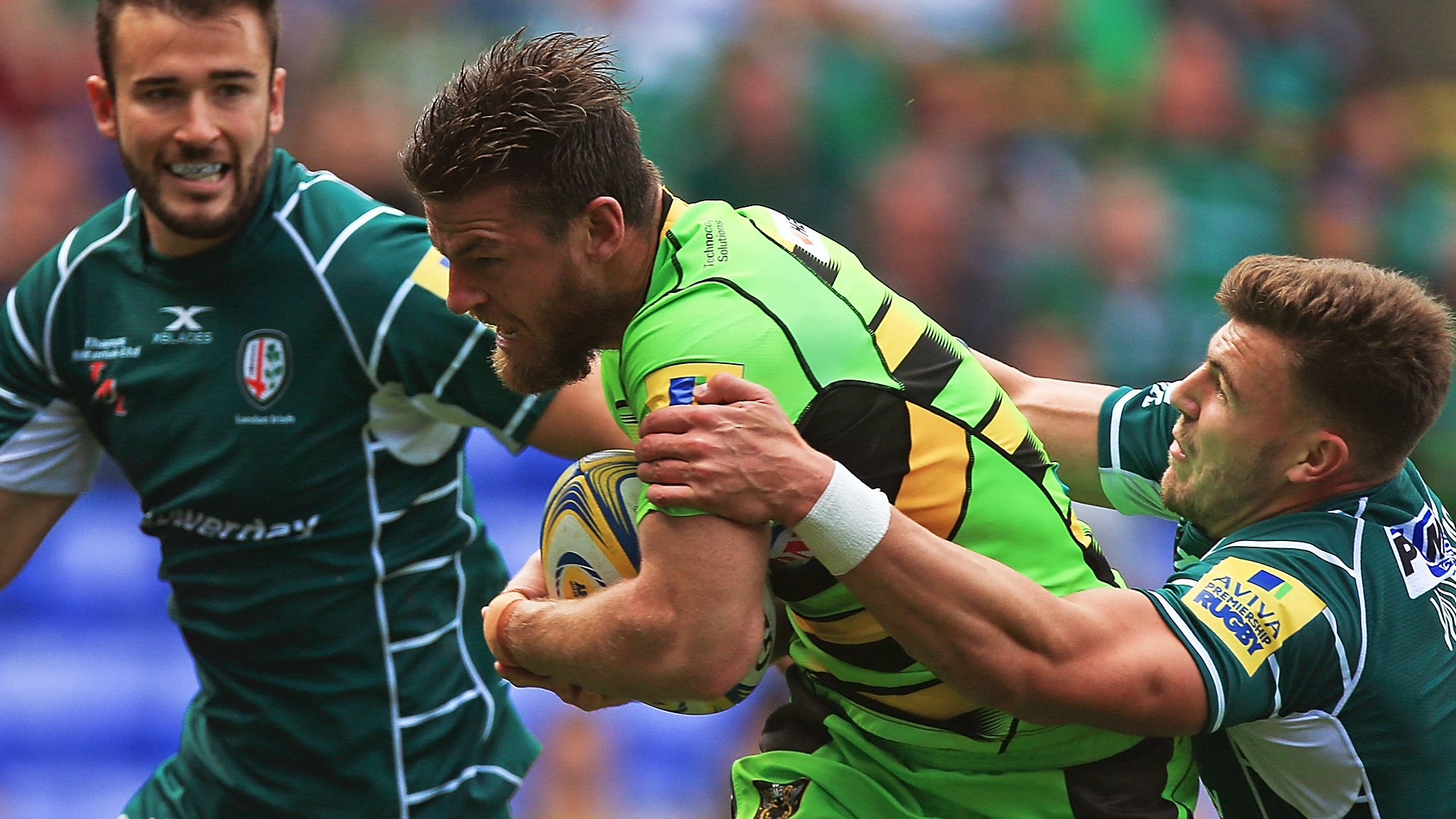 Rob Horne: Australia international delighted to get first Northampton Saints tries