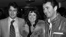 Trevor Francis, Helen Francis and Brian Clough