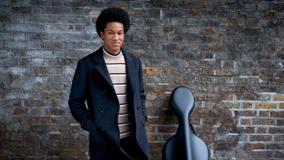 Royal wedding cellist Sheku Kanneh-Mason gets chart boost
