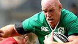Paul O'Connell on the rampage for Ireland